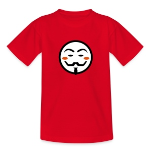 Anonymous Vendetta Mask - Teenager T-Shirt