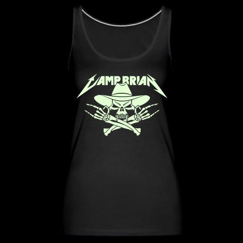 CAMP BRIAN (glow-in-the-dark) - Women's Premium Tank Top