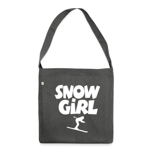 Snowgirl Ski Recycling Tasche - Schultertasche aus Recycling-Material