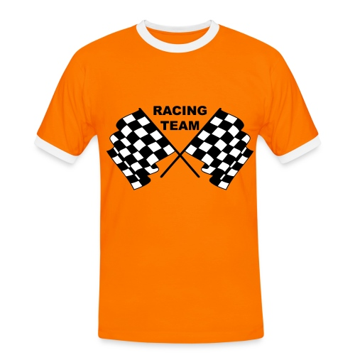 Racing team 04 - Men's Ringer Shirt