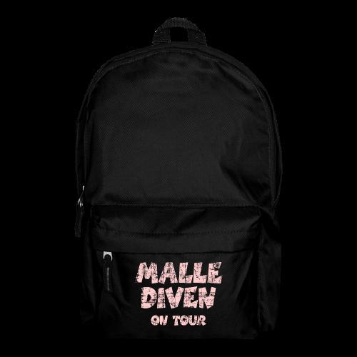 Malle Diven on Tour Vintage/Pink Rucksack - Rucksack