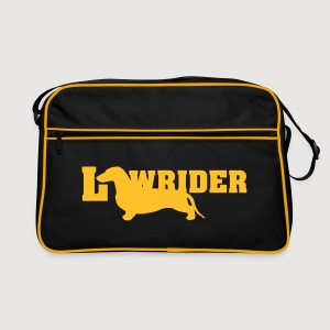 Kurzhaardackel LOW RIDER - Retro Tasche