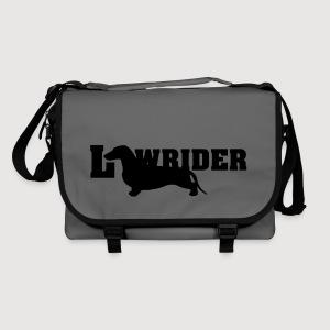 Kurzhaardackel LOW RIDER - Umhängetasche