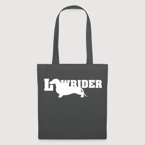 Kurzhaardackel LOW RIDER - Stoffbeutel