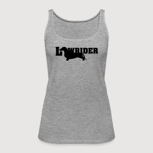 Kurzhaardackel LOW RIDER - Frauen Premium Tank Top