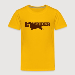 Kurzhaardackel LOW RIDER - Kinder Premium T-Shirt