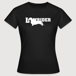 Kurzhaardackel LOW RIDER - Frauen T-Shirt