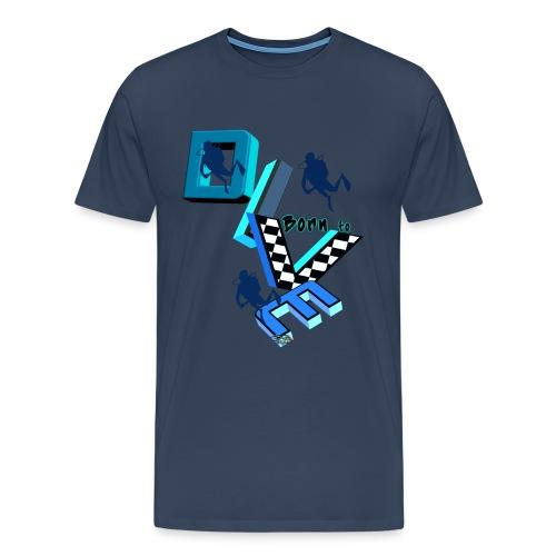 Born to dive 2016 - Männer Premium T-Shirt