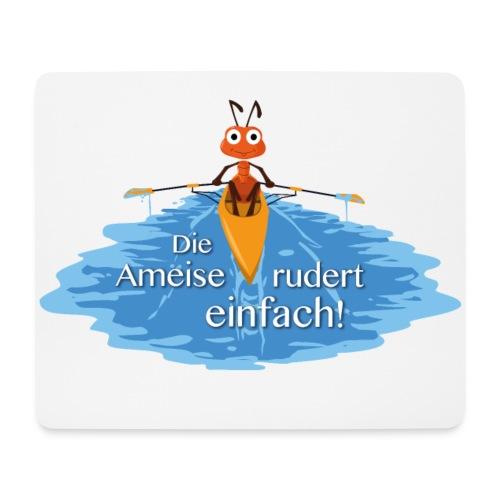 Mousepad quer mit rutschsicherer Unterseite - Mousepad (Querformat)