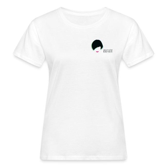 Female Emerald & Doreen Small Logo Organic T-Shirt