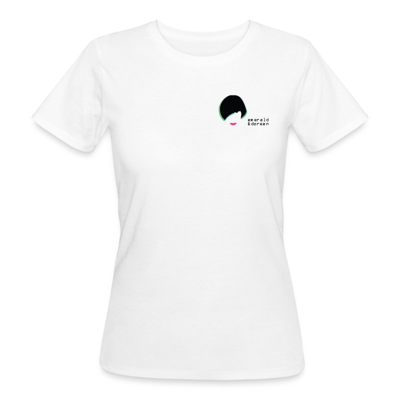 Female Emerald & Doreen Small Logo Organic T-Shirt - Women's Organic T-shirt