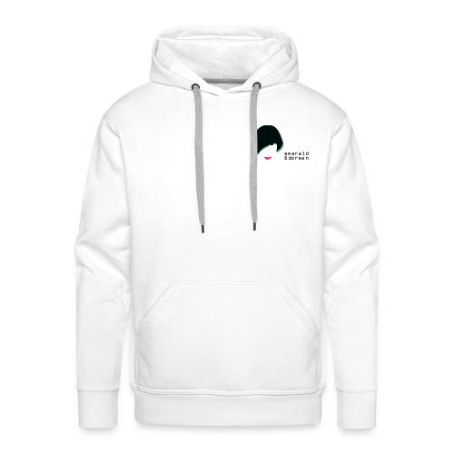 Male Premium Hoodie Emerald & Doreen Small Logo - Men's Premium Hoodie