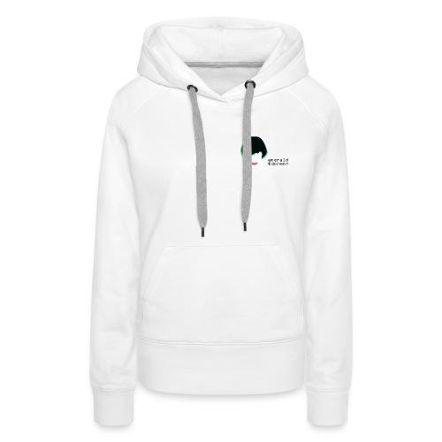 Female Premium Hoodie Emerald & Doreen Small Logo - Women's Premium Hoodie