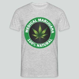 Medical Cannabis - Männer T-Shirt