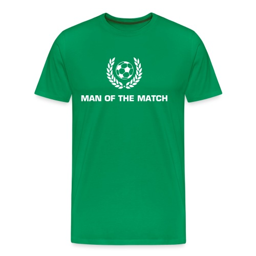 Man of the Match - Männer Premium T-Shirt