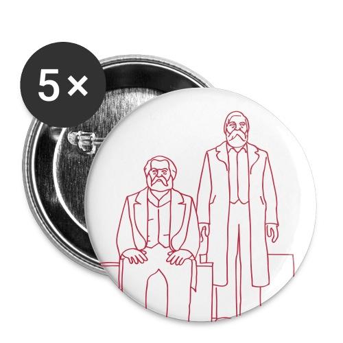 Marx-Engels-Forum Berlin - Buttons groß 56 mm