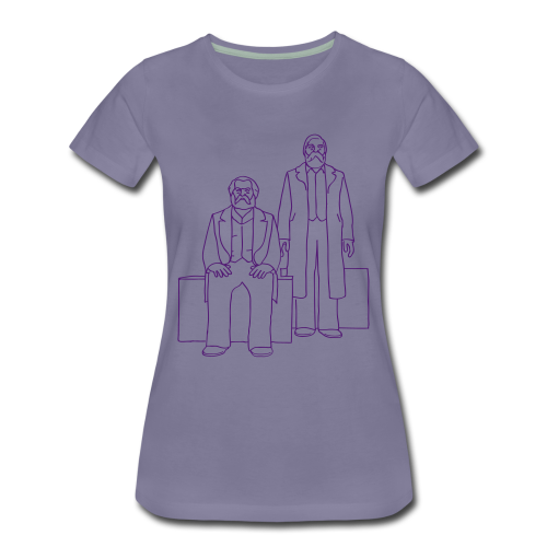 Marx-Engels-Forum Berlin, Frauen T-Shirt