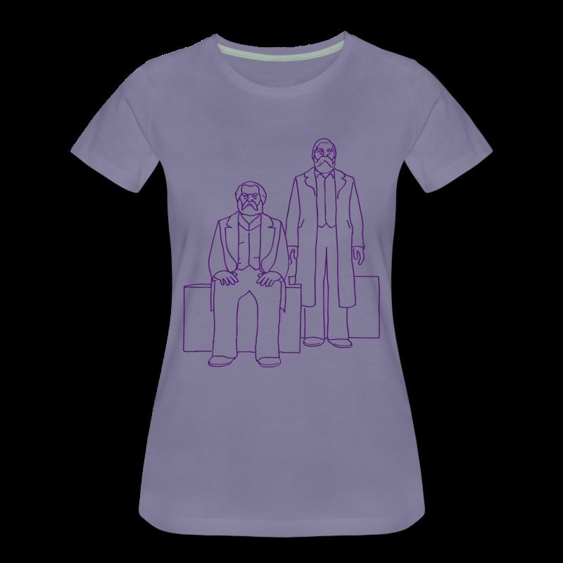 Marx-Engels-Forum Berlin - Frauen Premium T-Shirt