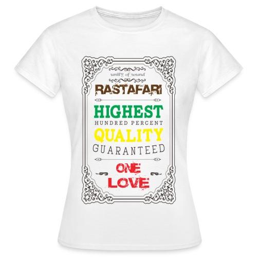 Highest Quality - T-shirt Femme