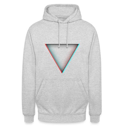 Sweat avec forme triangulaire - Sweat-shirt à capuche unisexe