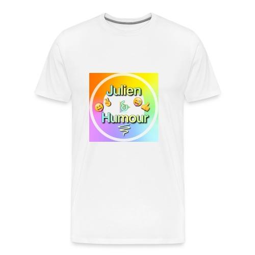 Tee shirt homme blanc - T-shirt Premium Homme