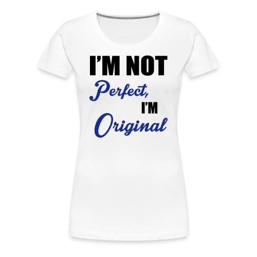 T-Shirt Citation Femme - T-shirt Premium Femme