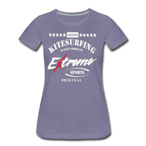 Kitesurfen Extreme - Frauen Premium T-Shirt