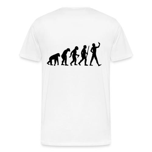 T-Shirt évolution homme - T-shirt Premium Homme