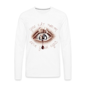 Open your Eyes - T-shirt manches longues Premium Homme