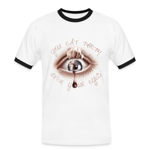 Open your Eyes - T-shirt contraste Homme