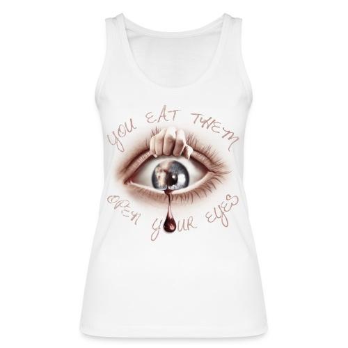 Open your Eyes - Débardeur bio Femme