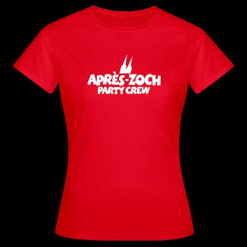 Après-Zoch Party Crew T-Shirt - Frauen T-Shirt