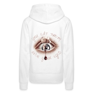 Open your Eyes - Sweat-shirt à capuche Premium pour femmes
