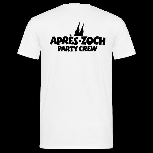Après-Zoch Party Crew T-Shirt - Männer T-Shirt