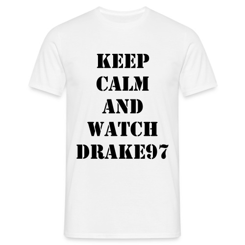 Keep Calm and Watch 97 (Blanca) - Men's T-Shirt