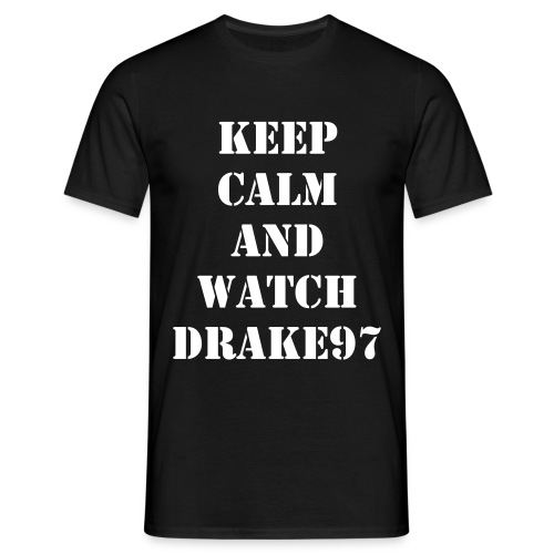 Keep Calm and Watch 97 (Negra) - Men's T-Shirt