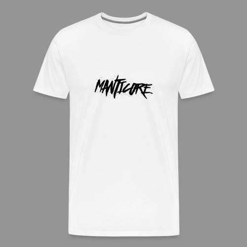 Tee-Shirt Manticore Blanc+Noir - T-shirt Premium Homme