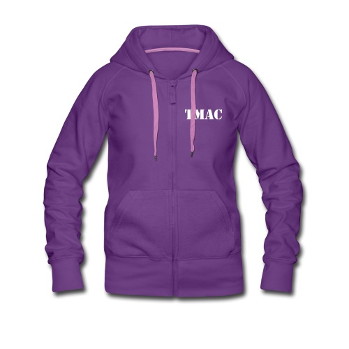 TMAC Angel Woman Hoodie  - Women's Premium Hooded Jacket