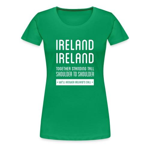Ireland's Call - Ireland Women's T-shirts - Women's Premium T-Shirt