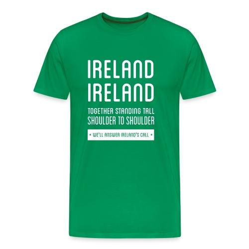 Ireland's Call - Ireland Men's T-shirts - Men's Premium T-Shirt