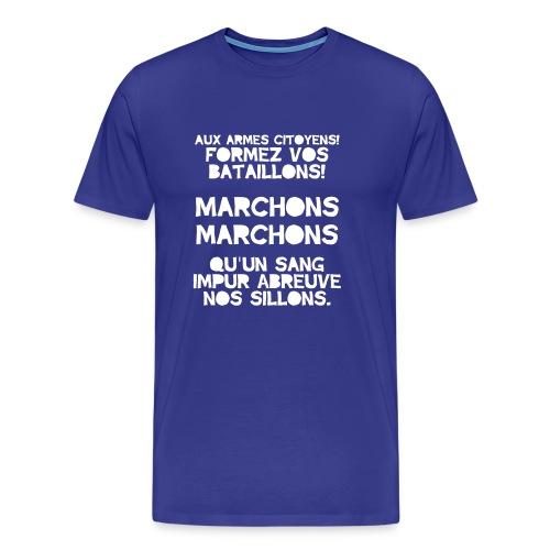 La Marseillaise - France Men's T-shirts - Men's Premium T-Shirt