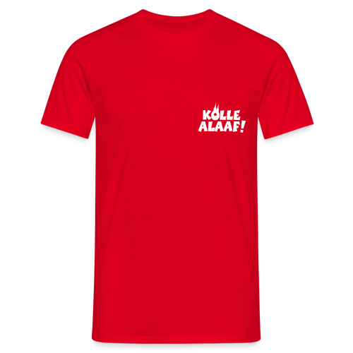 Kölle Alaaf mit Dom (Weiß) Herren T-Shirt - Männer T-Shirt