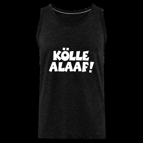 Kölle Alaaf (Weiß) Herren Tank Top - Männer Premium Tank Top