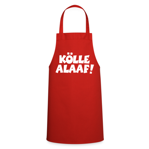 Kölle Alaaf (Weiß) Kochschürze - Kochschürze