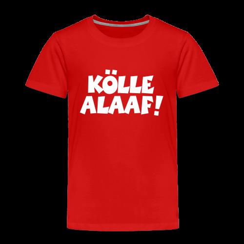 Kölle Alaaf (Weiß) Kinder T-Shirt - Kinder Premium T-Shirt