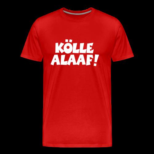 Kölle Alaaf (Weiß) S-5XL T-Shirt - Männer Premium T-Shirt