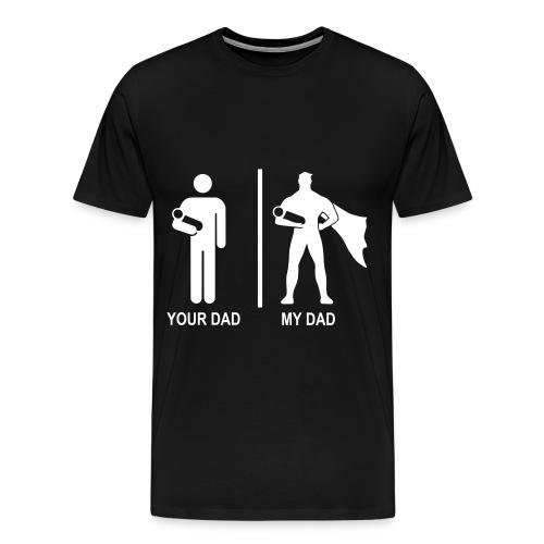 Mannen/DAD - Mannen Premium T-shirt