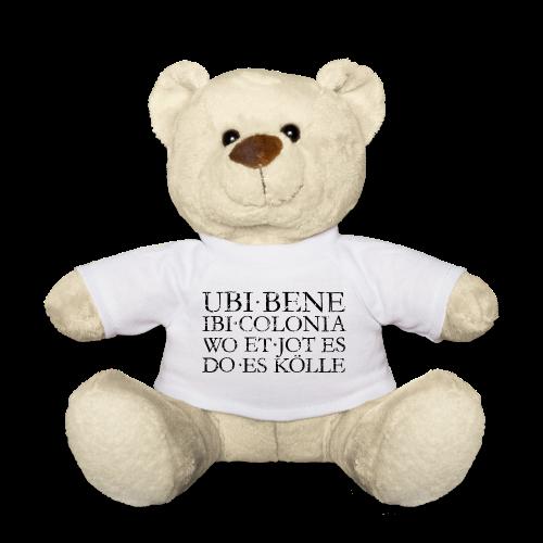 UBI BENE DO ES KÖLLE (Vintage Schwarz) Köln Teddy - Teddy