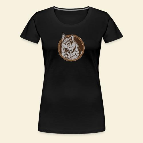 T-Shirt women, digitaler direktdruck vorne DSH  - Frauen Premium T-Shirt