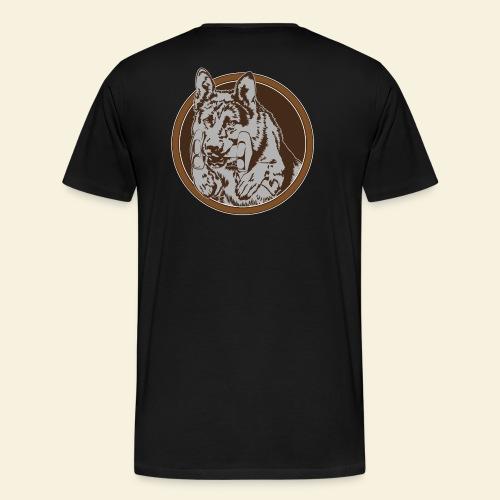 T-Shirt women, digitaler direktdruck hinten DSH  - Männer Premium T-Shirt